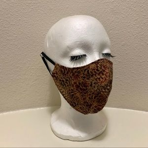 PINE CONE TRIPLE LAYERED FACE MASK